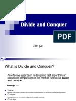 Divide and Conquer(Yan Gu)