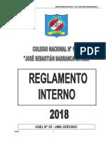 Ediciones Reglamento Interno de La Institucion Educativa Nº 1156 JSBL-Ccesa007