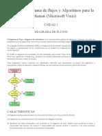 Unidad 1. Diagrama de Flujos y Algoritmos
