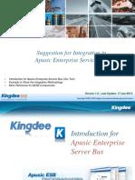 EASG M004 Introduction Apusic 1 V1 Eng (AESB Integration_Apusic Enterprise Service Bus )