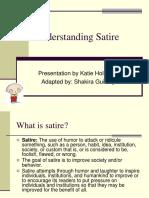 satire - understanding satire ppt
