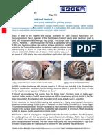 Experience Report Optimum Material for Grit Pumps