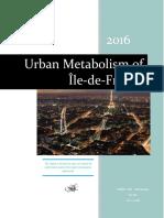 urban metabolism of paris- report