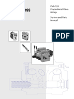 PVG 120 Proportional Valve Group Service and Parts Manual