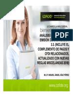 Analisis Integral en La Emision de Cfdi Vesion 3.3