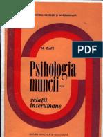 Mielu Zlate - Psihologia Muncii