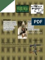 Historia Del Fusil m16