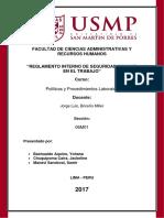 Monografia Terminado de Politica y Procedimiento