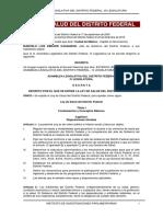 Ley Geral de Salud d.f. 2017