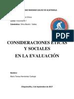 CONSIDERACIONES ÉTICAS Y SOCIALES EN LA EVALUACIÓN.docx