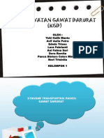 PPT KGD Transportasi Pada Pasien GD
