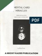 Mental Card Miracles