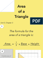 5.3a Area of a Triangle