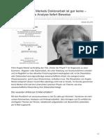 Anonymousnews.ru-dreistes Plagiat Merkels Doktorarbeit Ist Gar Keine Wissenschaftliche Analyse Liefert Beweise