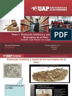 Evolucion Historica de Los Municipios
