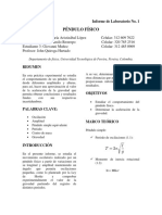 Informe de Laboratorio No 1