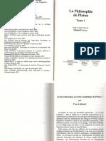 Lecture historique ou lecture analytique de Platon? - Yvon Lafrance