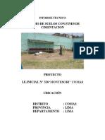 09 Informe Tecnico de Mecanica de Suelos