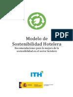 Modelo de Sostenibilidad Hotelera ITH