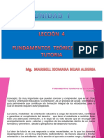 Leccion 4 - Fundamentos Teoricos