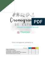 CRONOGRAMA EDITÁVEL