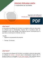 Semana 1 - Ing. Software I