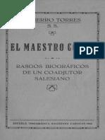 El Maestro Corso Rodolfo Torres Fierro