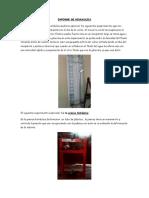 2013 Informe de Hidraulica