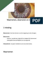 ppt-waarnemen observeren en interpreteren