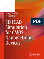 3D TCAD Simulation for CMOS Nanoeletronic