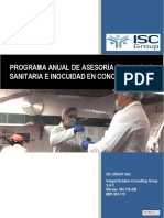Propuesta de Mantenimiento de Calidad Sanitaria e Inocuidad Alimentaria (1)