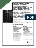 FCC Faculty 2018 Flyer