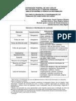 PP - BCI - 2004 - Diretrizes Para Elaboração e Diagramação de TCC