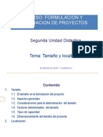 Formulación y Evaluación de Prroyectos