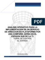 Analisis Sdp Compañia Aerea Espigon Sur t1