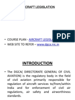 Aircraft Legislation