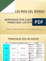 Principales Rios Del Mundo (1)