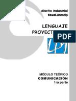 LP1 2018 MÓDULO TEÓRICO Comunicación 1ra Parte
