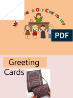 Greeting Cards Ppt