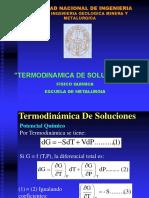 Termodinamica de Soluciones