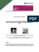 Art TOSTES, José a._o Uso Legal e Ilegal de Áreas Umidas Na Amazonia