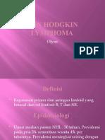 Non Hodgkin Lymphoma Olyn
