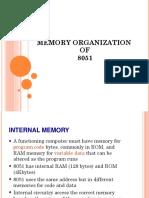 Memory Organization of 8051