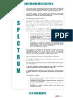 FT_Transformador Spectrum Factor K