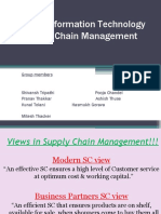 Role of Information Technology in Supply Chain Management[1]