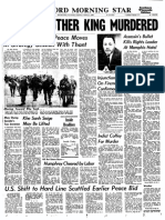 Rockford Morning Star front page from April 5, 1968