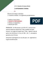 Hipodinamia Uterina