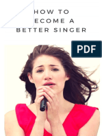 How to Become a Better Singer