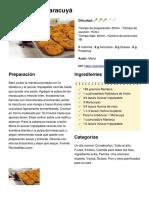 Cookies de Maracuyá