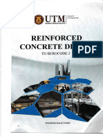 UTM Reinforced Concrete Design to EuroCode2